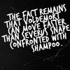 snape shampoo