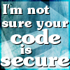 Barb: DH - secure code?