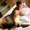 Tallian: burn notice - gun in bed