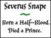 Snape - Died a Prince v.2
