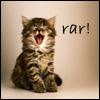 Laura: kitten roar