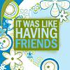 some blockheaded bracegirdle from hardbottle: hp - like having friends