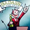 sinfest - badass of year award