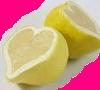 lemons, hearts