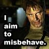 Verba volant, scripta manent: aim to misbehave