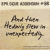 ...: HP: Hedwig in the epilogue