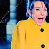 yellow coat., Audrey