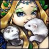 ferrets  & fairy