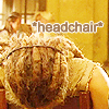 She-who-enamels: headchair