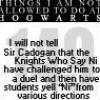 HP_Knights who say Ni