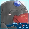 eat, books, read