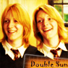 Double Sun (Weasley Twins)