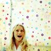 Emily: polka dot grin