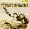 Nikki: Avatar; Zutara; Becomes the sea