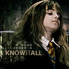 banshee: hp - hermione - knowitall