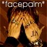 RENT: Tim Howar face palm