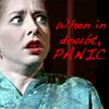Panic // btvs