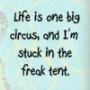 freak tent