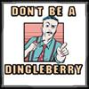 dont be a dingleberry