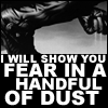 Ash: a handful of dust
