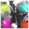 Annelies: Grace kiss colour hearts