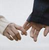 lovers' hands