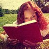 рыж с книгой