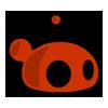 logo, redslime