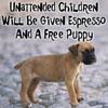 Ursula Messerschmitt: Parenting-Unattended Children-Puppy