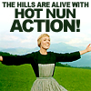 Sound of Music Hot nun action