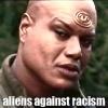 aliens against racism
