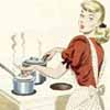 blond cooking