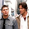 SPN Brothers shoulder to shoulder