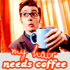 Doctor Who // My hair needs coffee