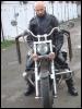 я на мотоцикле