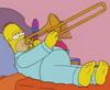 homer on trombone