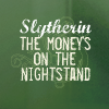 hp - slytherin - moneys on the table