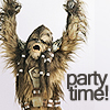 star wars - party time!
