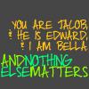 Andrea: jacob/edward/bella // nothing else