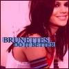 voguexcouture: brunettes do it better