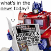 cybertronian, prime news