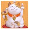 cat, chinese, money