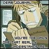 cry journal fma
