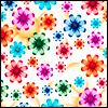 funky pattern, multicoloured