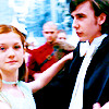 harry potter// yule ball ginny/neville
