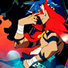 FUNKY FRESH: Kamina is so SLICK