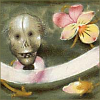 Ozsaur: Skull (16th century Flemish psalter)