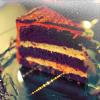 d: Nature cake! (e)