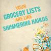 GG grocery haiku