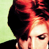 Bowie red hair